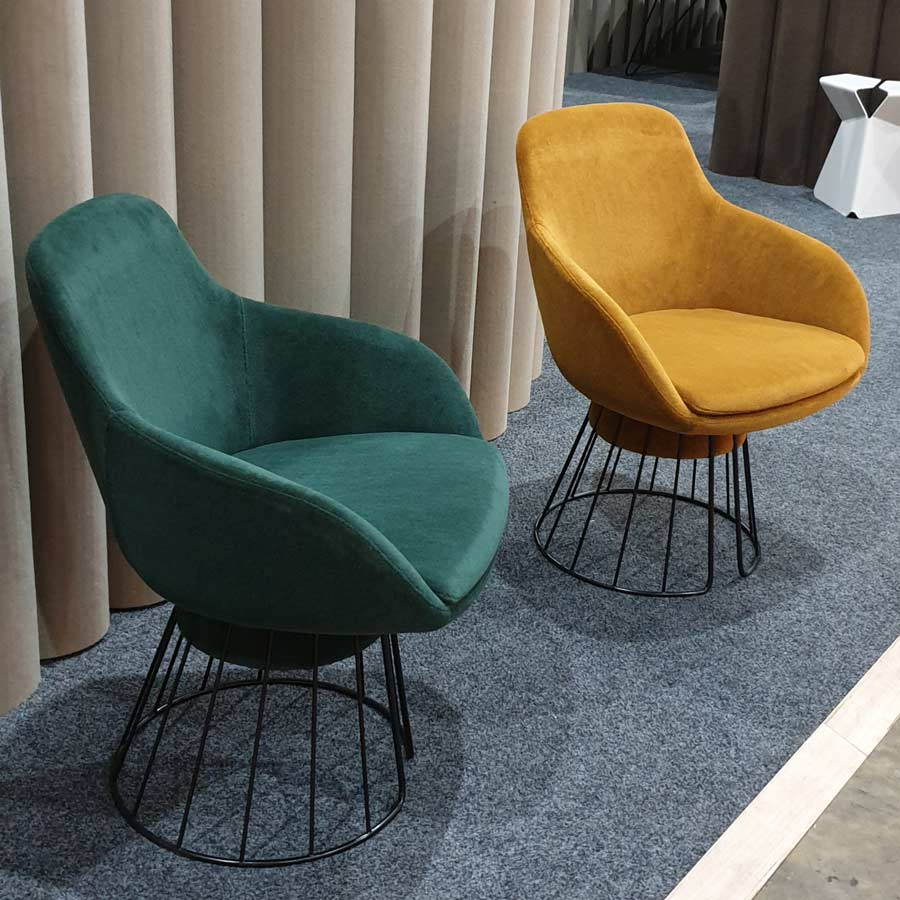 DENFAIR 2019 Tim Webber Design chairs